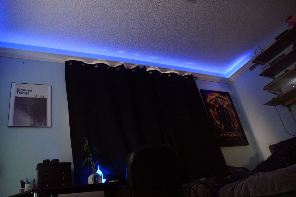 What S Also Great About Using Leds Is That They Can Change And Turn Any Color The Lights I Have In My Above Setup Ar Just For Decoration
